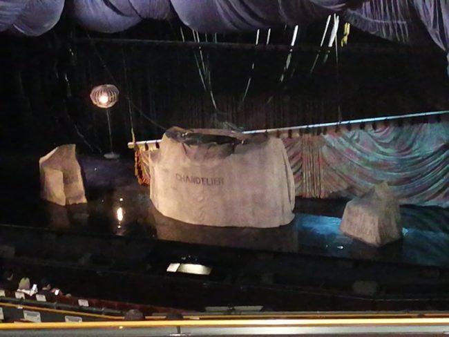 オペラ座の怪人開演前舞台写真